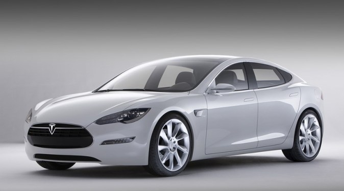 Tesla unveils Model S electric saloon  2009    CAR Magazine Tesla unveils new model S electric saloon car