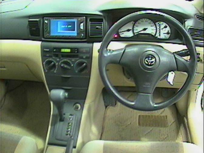 2001 Toyota Corolla Runx NZE121 X For Sale Japanese Used