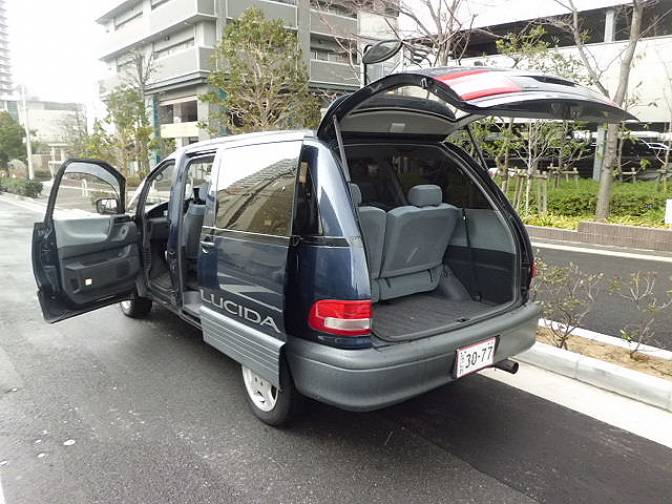 1995 Toyota Estima Lucida TCR10G G Luxury For Sale