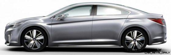 2015 Subaru Legacy Concept Directly Previews Next LGT7