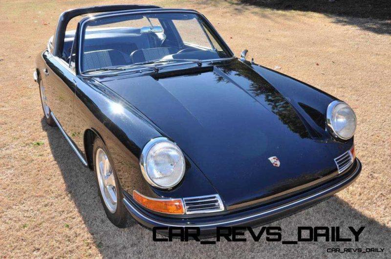 Black 1967 Porsche 911S Soft Window TARGA for sale in Raleigh NC 38