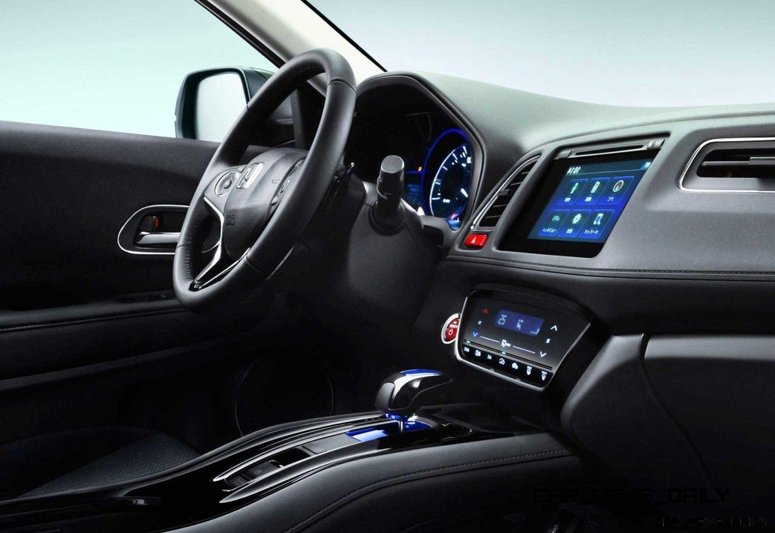 Cool! 2015 Honda Vezel Hybrid Previews Spring 2014 Civic CUV19