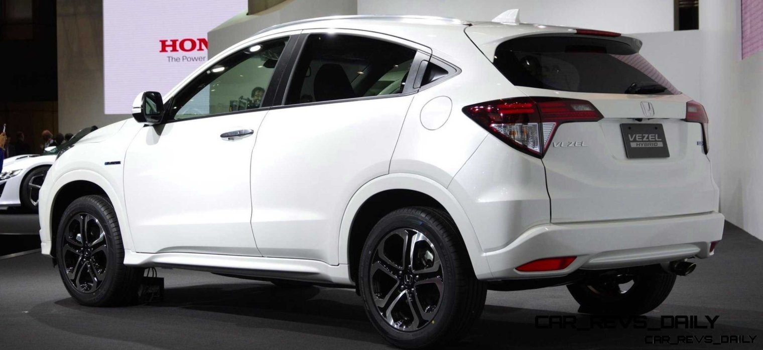 Cool! 2015 Honda Vezel Hybrid Previews Spring 2014 Civic CUV3