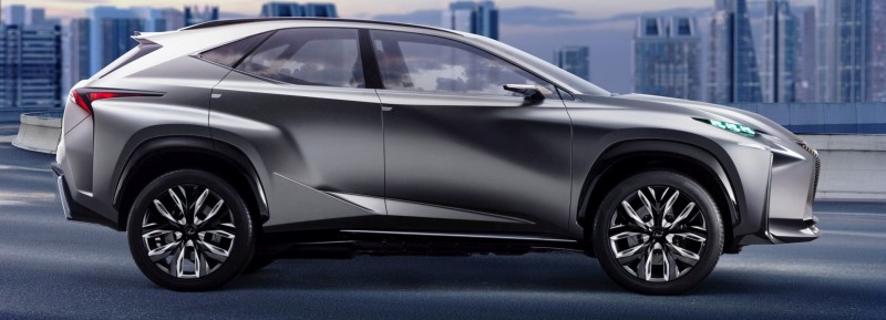 Fascinating LF-NX Turbo Concept Previews Exciting New Surfaces4