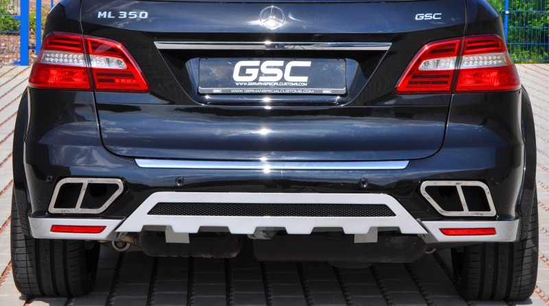 German Special Customs Turns Mercedes-Benz ML into Autobahn Cruise Missile 3