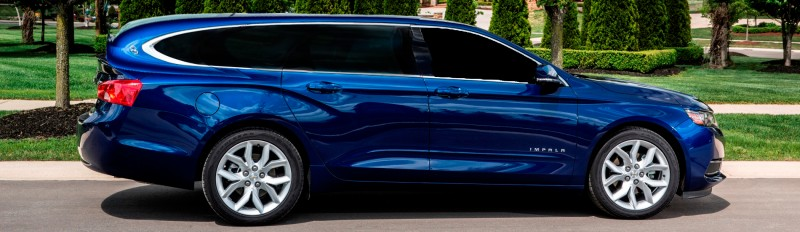 Speculative Renderings of potential Chevy Impala Station Wagon 1