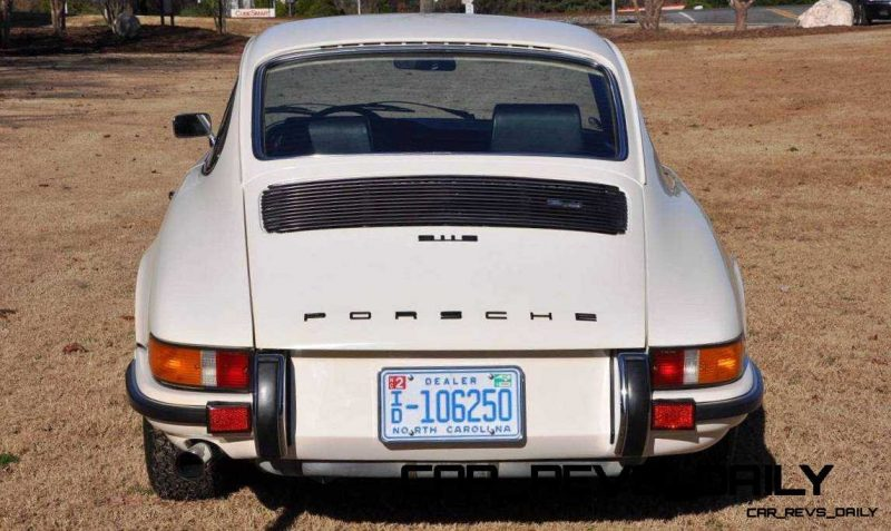 White 1972 Porsche 911S for sale in Raleigh NC 4