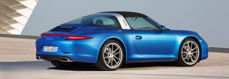2014 Porsche 911 Targa4 and Targa4S - Roof Animations of 400HP Surf 'n Turf Supercar 10