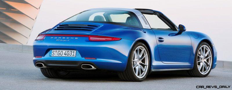 2014 Porsche 911 Targa4 and Targa4S - Roof Animations of 400HP Surf 'n Turf Supercar 12