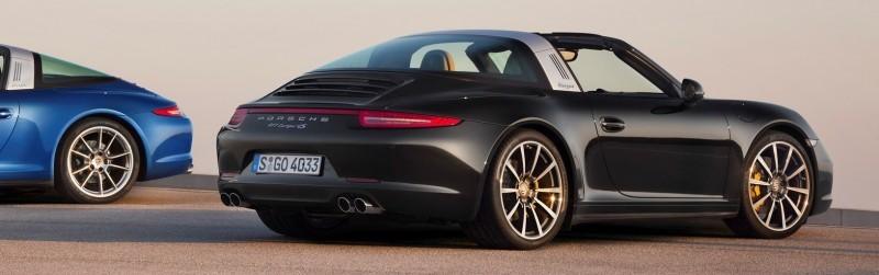 2014 Porsche 911 Targa4 and Targa4S - Roof Animations of 400HP Surf 'n Turf Supercar 3
