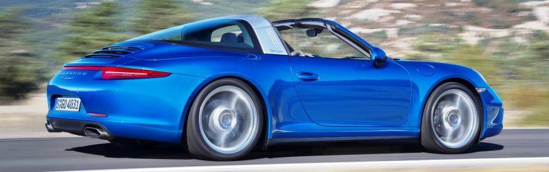 2014 Porsche 911 Targa4 and Targa4S - Roof Animations of 400HP Surf 'n Turf Supercar 8