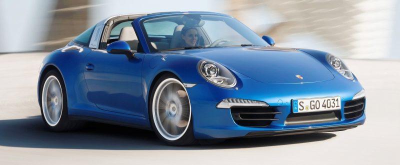 2014 Porsche 911 Targa4 and Targa4S - Roof Animations of 400HP Surf 'n Turf Supercar 9