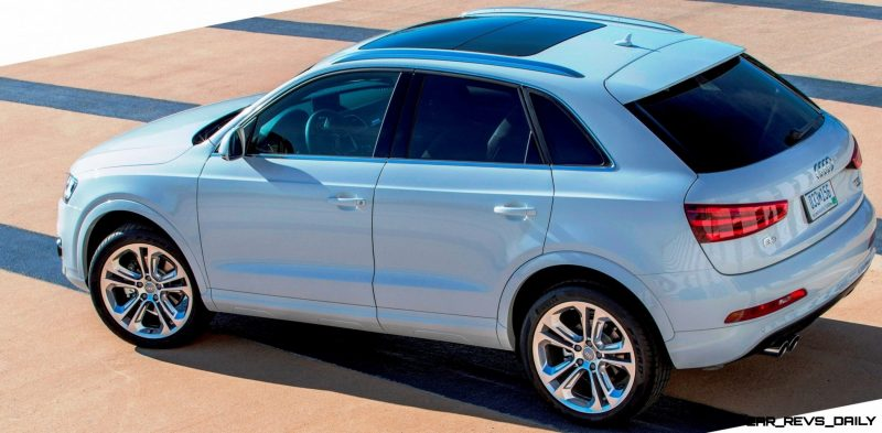 Audi Q3 Looking Classy + Packing Standard 200HP Turbo for U.S. Sales From August 2014 6