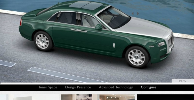 CarRevsDaily.com - 2014 Ghost V-Specification Builder With Exterior and Int Color Samples 65