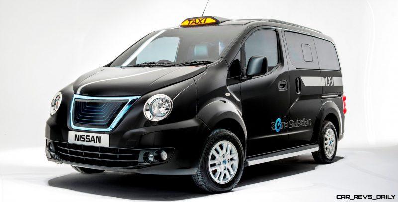 Nissan NV200 London Taxi concept. PR handout. Photograph: James Lipman // jameslipman.com