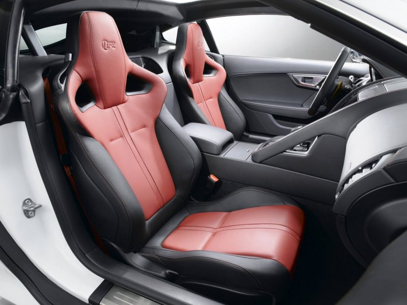Jaguar Makes a WINNER!  2015 F-type Coupe INTERIOR9