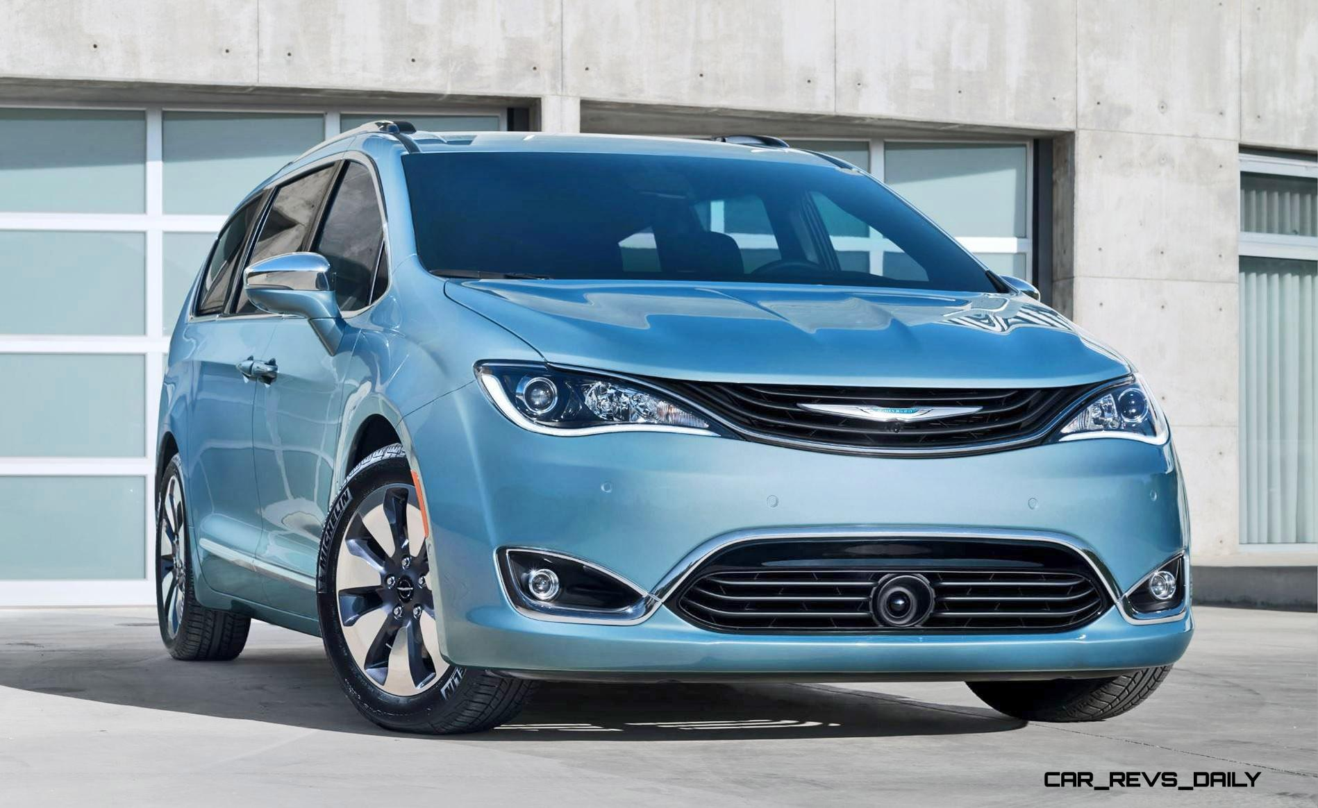 2017 Chrysler PACIFICA Is All-New Minivan