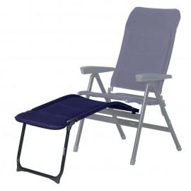 chaise pliante avec repose pieds westfield chaise de camping ambassador 1 ag x advancer xl bleublau