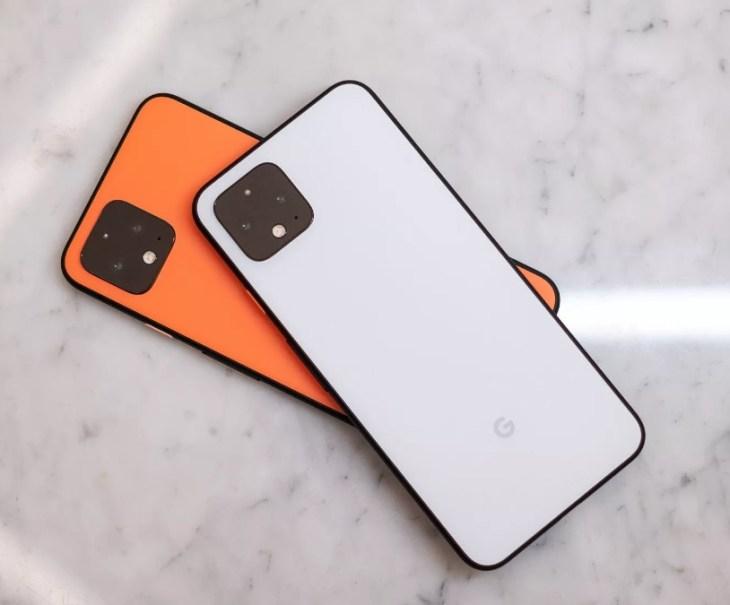 Clearly White dan So Orange menjadi Warna Favorit Pixel 4