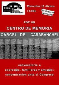 #CentroMemoriaCarabanchel