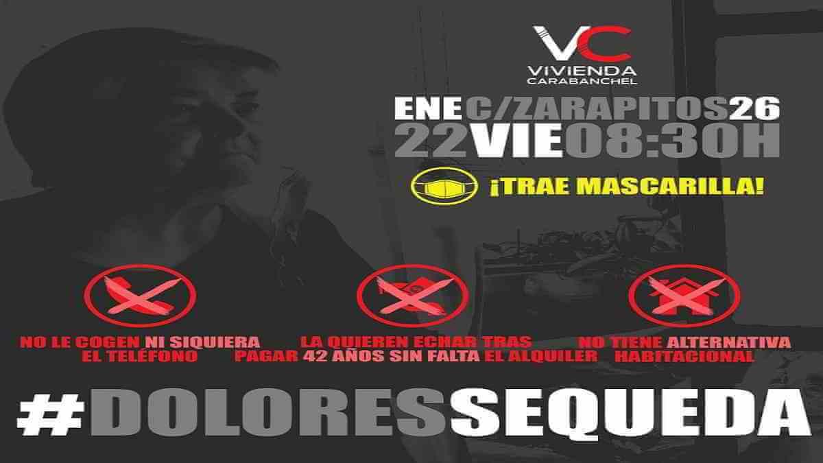#DoloresSeQueda