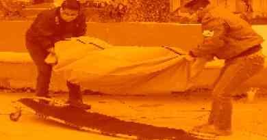 La otra cara de la nieve: Muere un hombre en Carabanchel