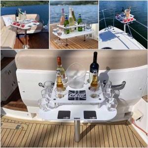 boat bar | skippers bar | boat drinks holder | yacht bar | no spill drinks holder | gift for boat owner | wave bar | Sports boats glass and phone holder | can holder