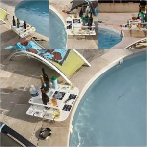Pool Bar | Poolside bar | Drinks Holder | swarovski crystal bar | deck bar | festival bar | sports bar | beach bar