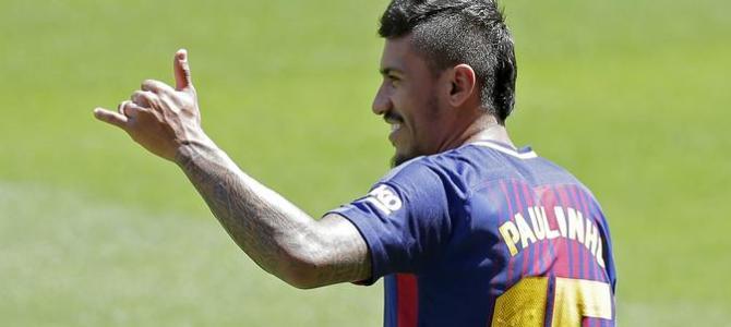 Paulinho Akui Sulit Beradaptasi Dengan Permainan Barcelona