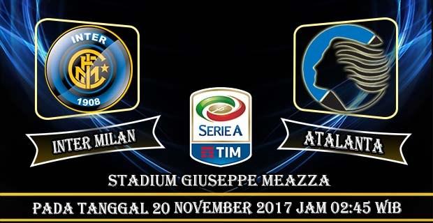 Prediksi Bola Inter Milan vs Atalanta 20 November 2017