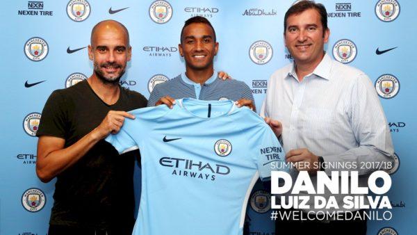 Danilo Akhirnya Resmi Berlabuh Ke Manchester City