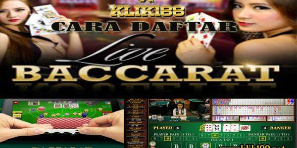 Cara Daftar Live Casino Baccarat