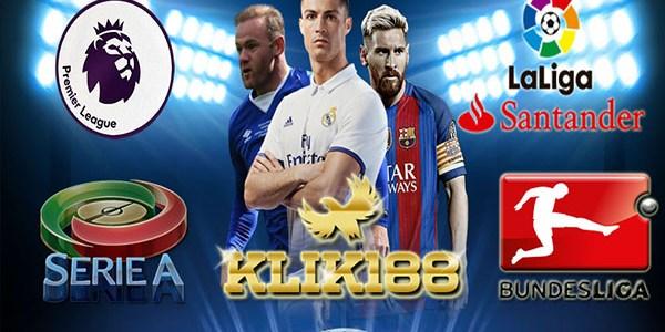 Jadwal Pertandingan Liga-Liga Top Eropa 18-21 November 2017