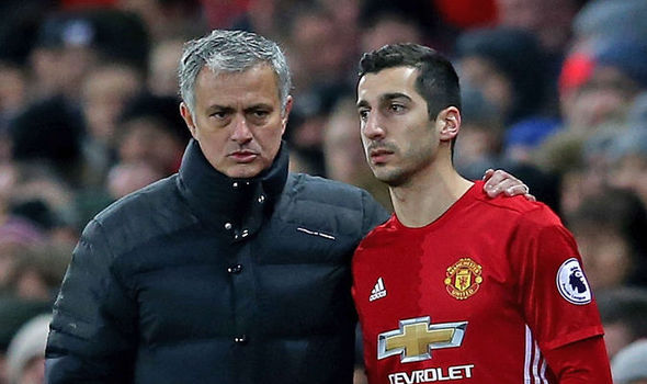 Jose Mourinho Mengucapkan Maaf Kepada Henrikh Mkhitaryan