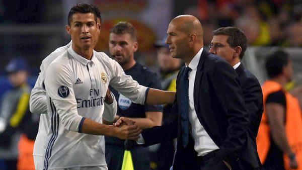 Zidane Yakin Ronaldo Bakal Pensiun di Santiago Bernabeau