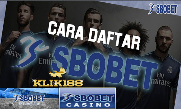 CARA DAFTAR SBOBET BOLA dan CASINO