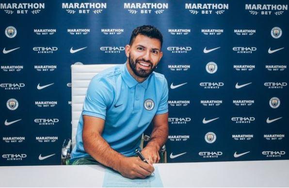 Sergio Aguero Perpanjang Masa Kerja Bersama Manchester City