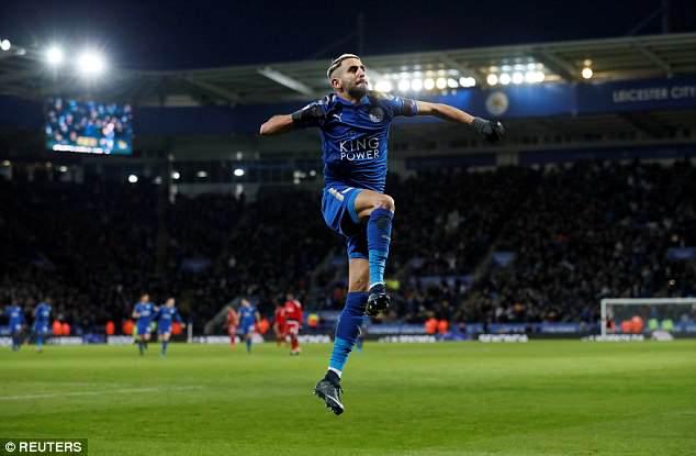 Manchester City Sediakan 75 Juta Pounds Untuk Boyong Riyad Mahrez