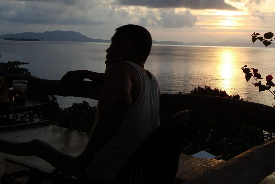 sunrise at surigao strait, almont beach resort, surigao city