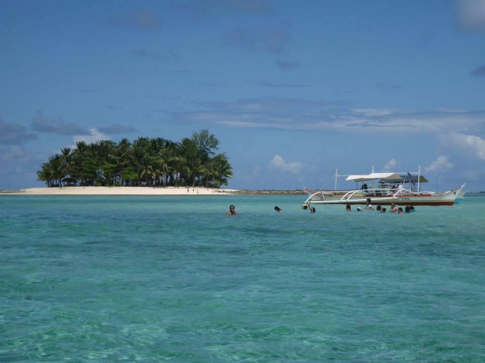 Island Hopping in Siargao. Daku, Naked, Guam Island by Boat.