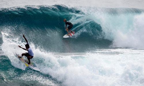 Cloud 9 a Surfing Mecca in the Philippines, General Luna, Surigao del Norte