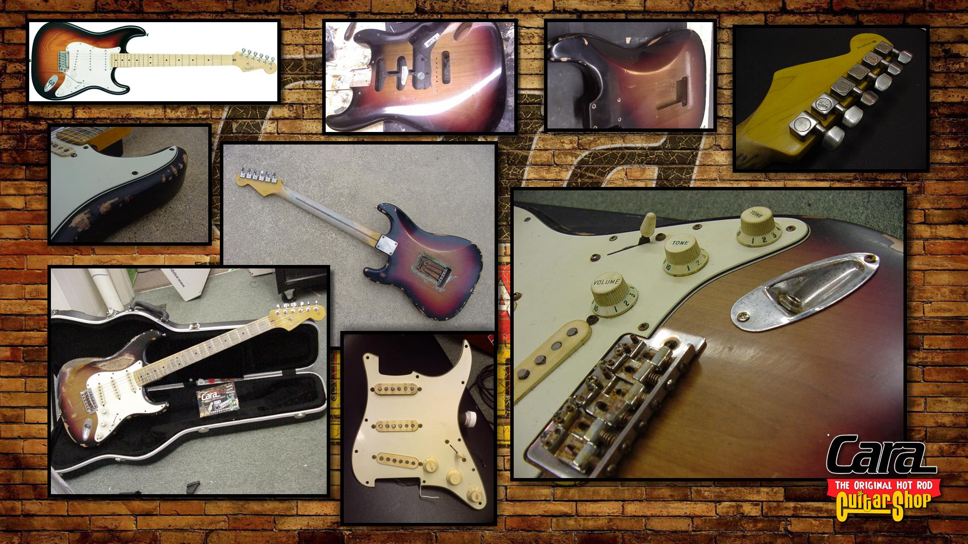 Roadworn Relic 50th Aniversary Fender Strat
