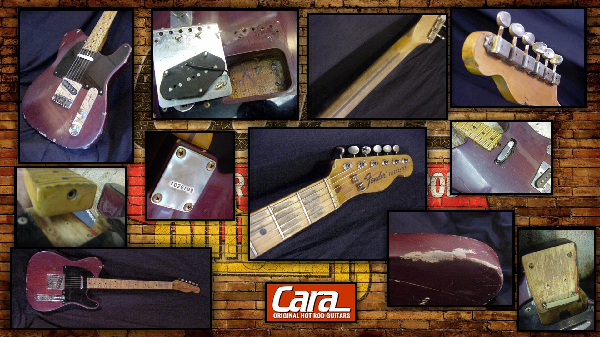 Fender Telecaster Custom Made Relic