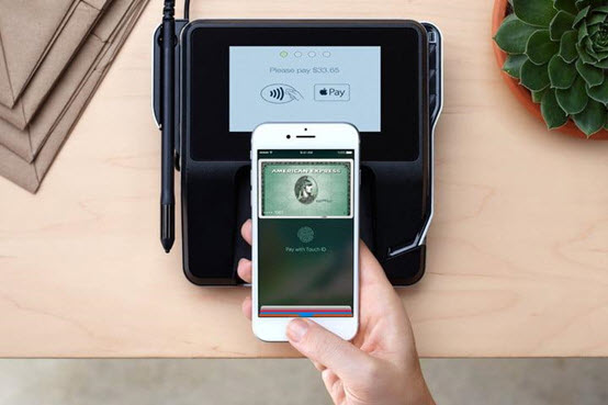 Fitur Apple Pay di iPhone