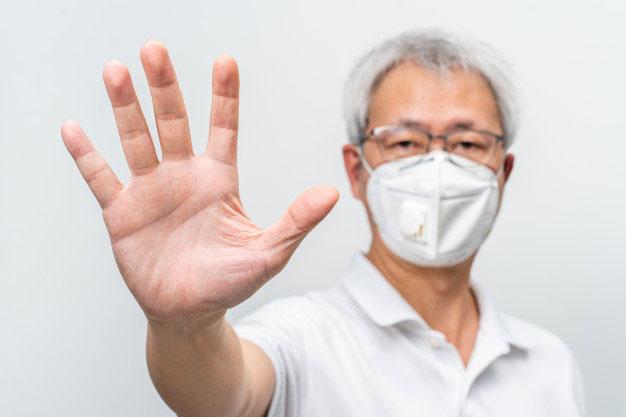 Memakai Masker N95 untuk Stop Virus Corona