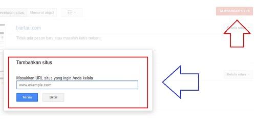 Cara Submit Sitemap Blogspot Ke Webmaster