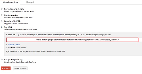Cara Submit Sitemap Blogspot ke Google Webmaster