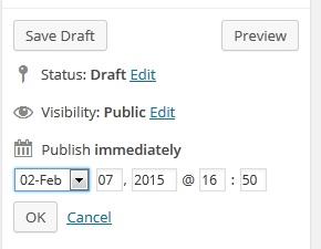 Membuat Jadwal Update Posting Pada WordPress