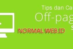 Optimasi SEO Off Page Blogger dan WordPress