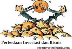 Perbedaan Investasi dan Bisnis Yang Perlu Diketahui